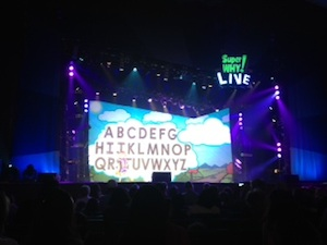 Super Why! Live Tour