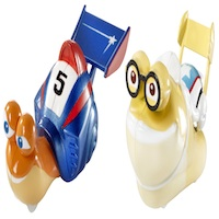 Turbo 2 Pack Shellracers Mattel
