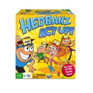 Hedbanz Act Up, Hedbanz, Spinmaster Games