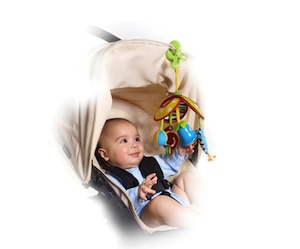 tiny love on-the go mobile, baby mobile, infant toy