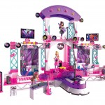Mega Bloks Barbie Build 'n Play Super Star Stage