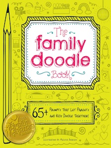 Family Doodle Book from Adams Media Booksore, melissa aversions