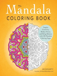 Mandala Coloring Book, Jim Gogarty