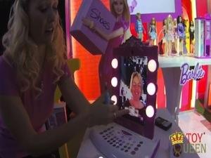keri wilmot, toyqueen,com, barbie ipad mirror