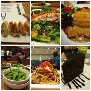 Pictures of japanese food from wagamama at market street lynnfield.
