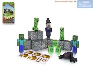 jazwares, minecraft, mine craft activities, mine craft paper craft