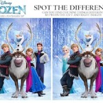 Frozen Spot the Difference game