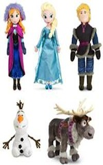 Frozen Plush Collection by Disney Store
