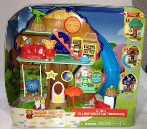 Daniel Tiger Treehouse Playset