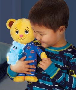 Daniel tiger toy plush bedtime snuggle bear