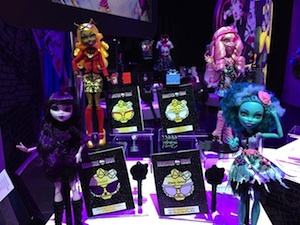 2014 Monster high Frights Camera Action