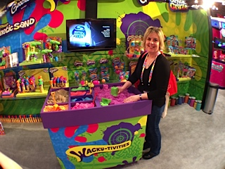 wackytivities, keri wilmot, kinetic sand, spinmaster
