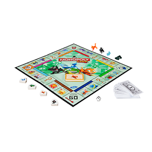 Monopoly Junior Math Board