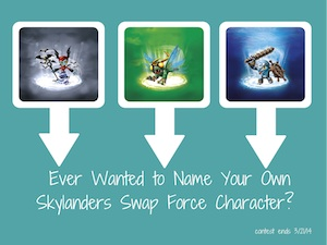 name your own skylanders