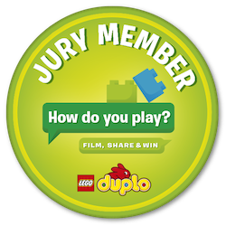 LEGO DUPLO How Do You Play Jury Badge