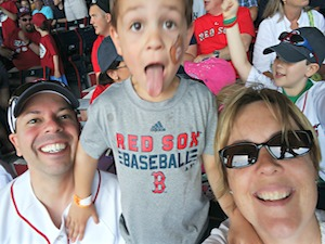 Keri Wilmot, Derek Wilmot, ToyQueen.com, #redsoxmoms, #redsoxfamily, kid nation, kid nation clubhouse