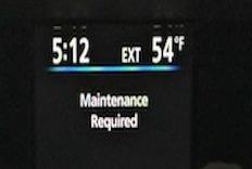 Maintenance reminder, SiennaDiaries, toyotacare