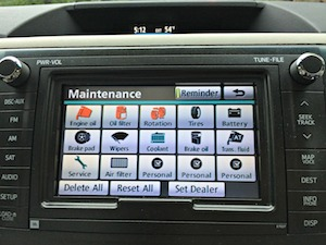 toyota sienna maintenance
