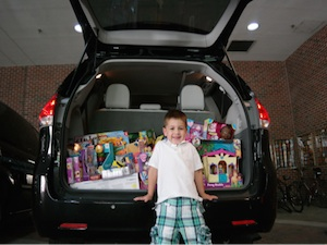 ToyQueen #SiennaDiaries Donation to Shriners Hospitals for Chidlren