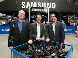 Ditch Box and Samsung Executives Jay Kelbley