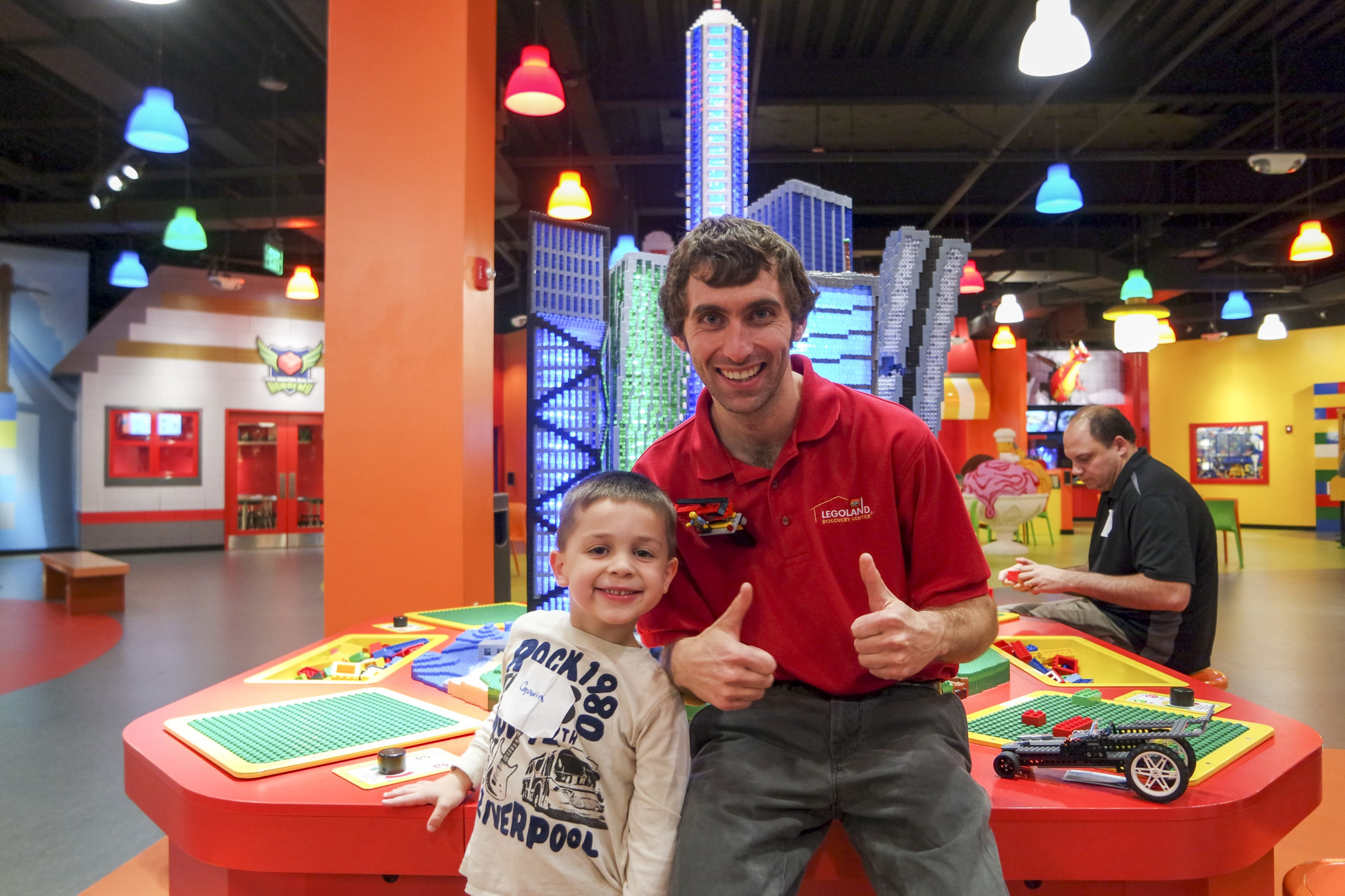 ToyQueen.com and Ian Coffey LEGOLAND DIscovery Center Boston LEGO Master Model Builder