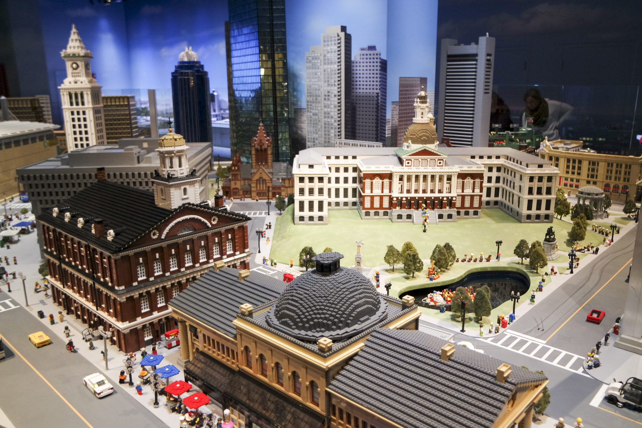 LEGOLAND Discovery Center Boston Miniland