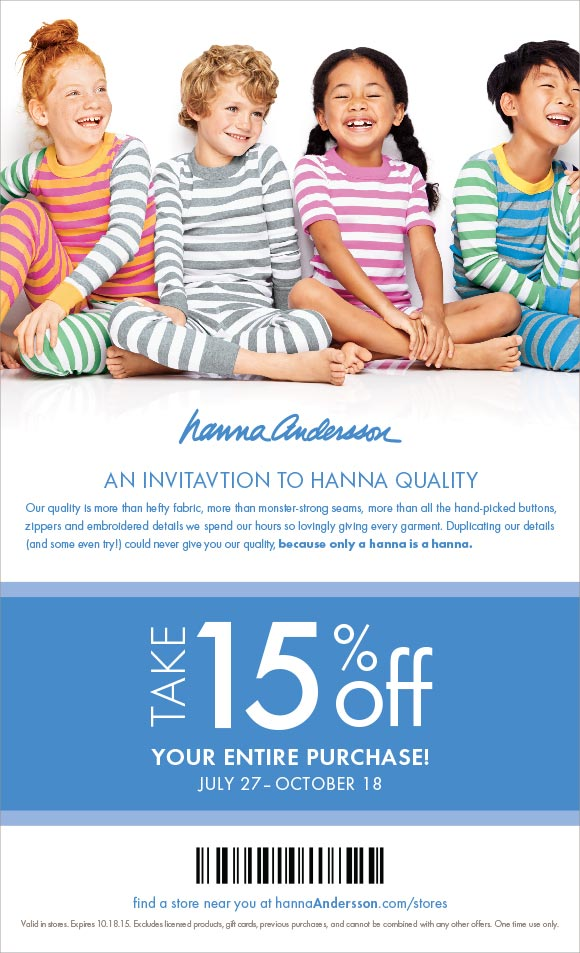 Hanna Andersson Coupon And Back To School Finds Toyqueen Com