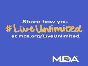 Live Unlimited for Muscular Dystrophy Awareness