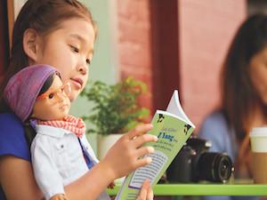 American Girl Doll Z-Yang