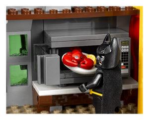 LEGO Batman Cooking Lobster in Microwave in Joker Manor