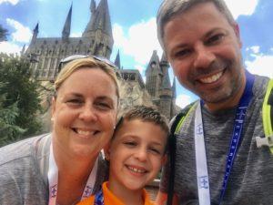 hogwarts, universal Orlando resort, wizarding world of harry potter, family forward