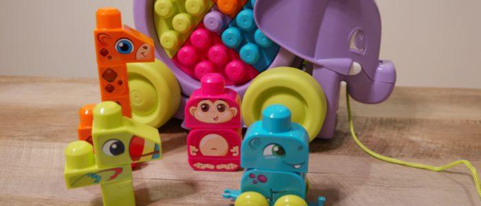 Mega Bloks Elephant Parade Toddler Toy
