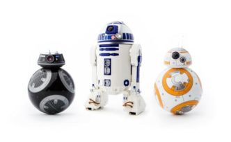 New Sphero Star Wars droid toys