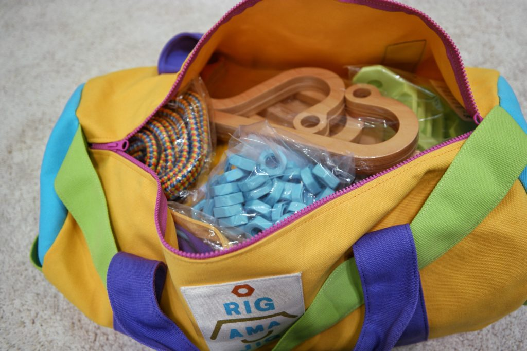 Rigamajig Jr. STEM Toy Open Bag