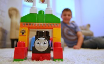 Mega Bloks Thomas and Friends Wagon