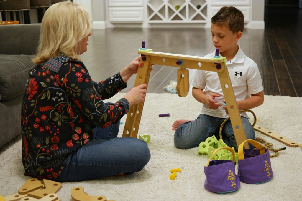 Rigamajig Jr. is a great STEM toy for kids