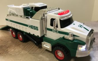 2017 Hess Toy Truck Dump Truck and Loader
