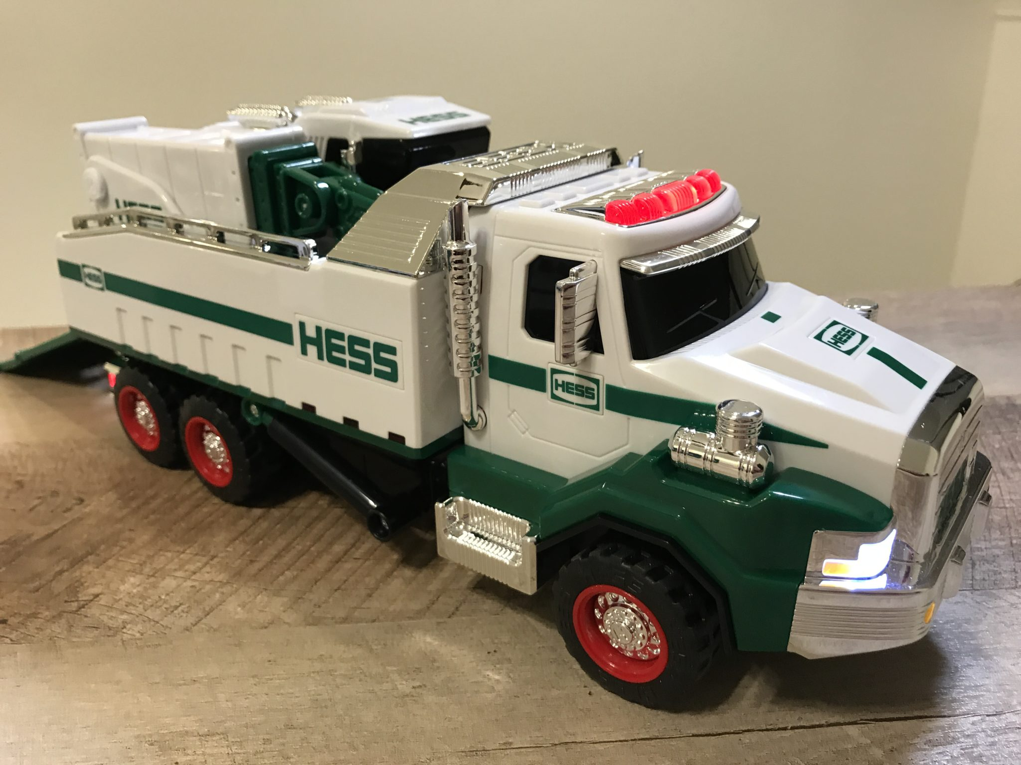 Toy Model Trucks : New hess toy dump truck and loader for is here