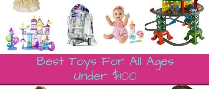 Best Toys Under $100 on ToyQueen.com